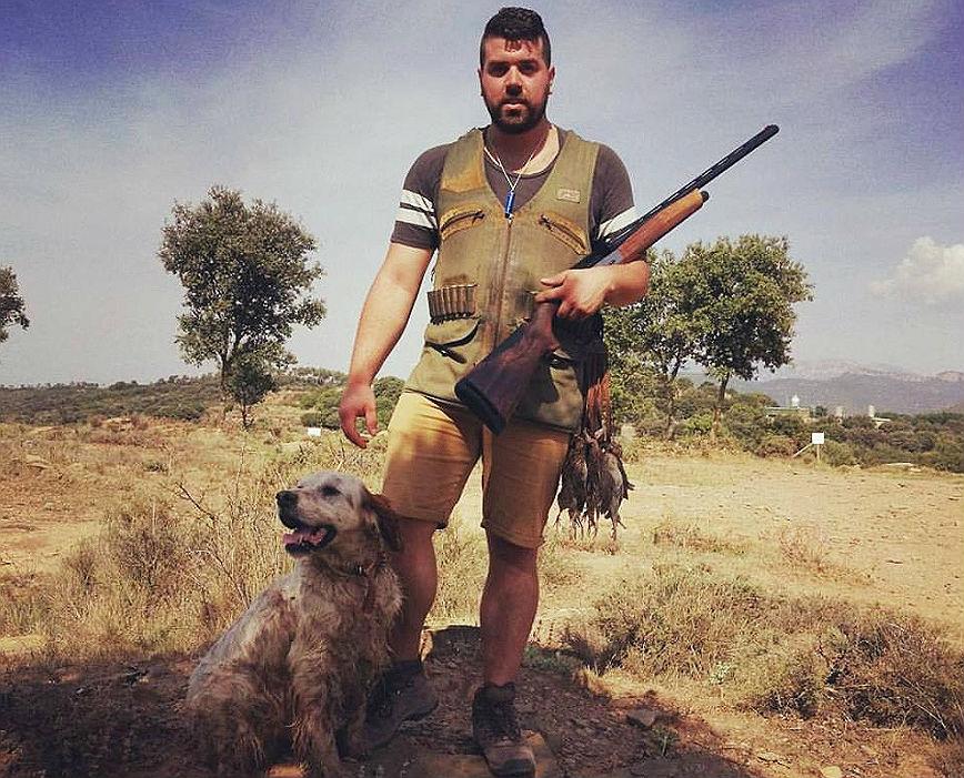 El cazador que mató a dos agentes rurales en Lleida.