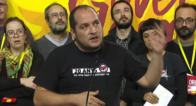 """David Fernàndez critica Units Podem per voler """"derrotar independentistes"""""""