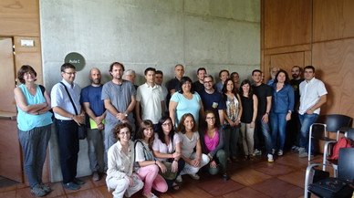 La presentaci�n del proyecto de formaci�n de la Diputaci�n de Barcelona y el Citilab de Cornell�.