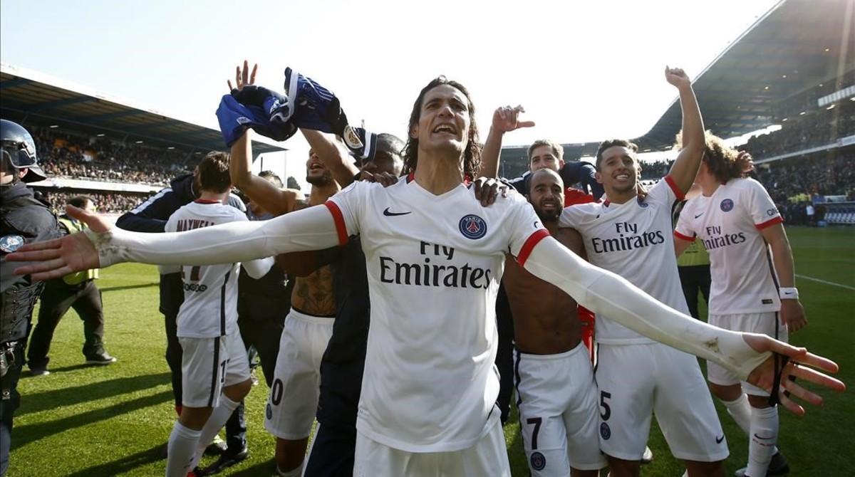 Ibrahimovic usa una frase de Guardiola para festejar el t�tulo del PSG