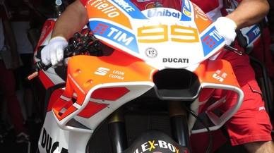 La aparatosa cúpula de la Ducati puede ser peligrosa