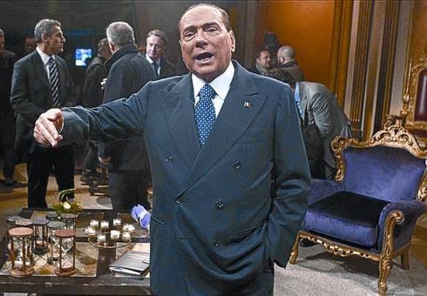 Berlusconi evitará los mítines en la calle por seguridad