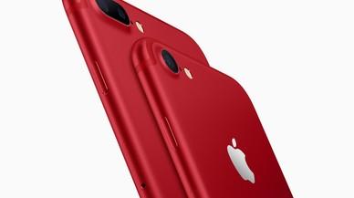 Apple lanza el iPhone 7 y 7 Plus en rojo para luchar contra el sida