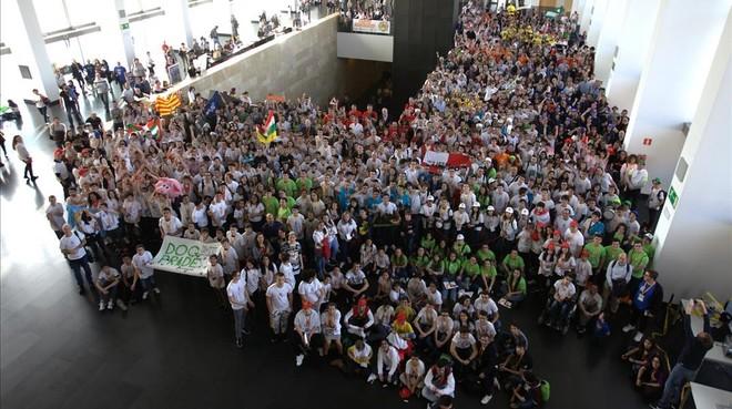 Foto general de los participantes en la final.