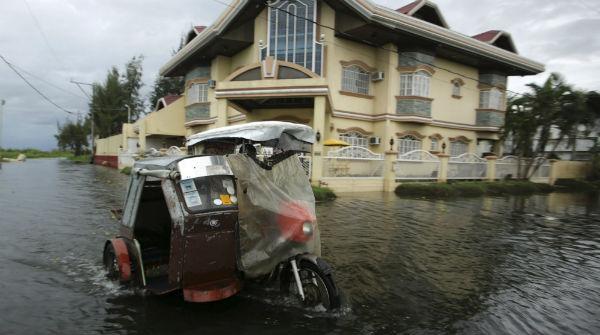 Las calles de Tacloban, Filipinas, despu�s del tif�n Haiyan.