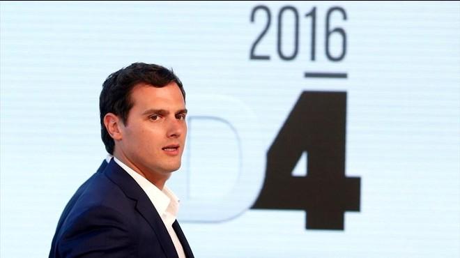 Rivera busca retenir el vot del PP cedit al desembre