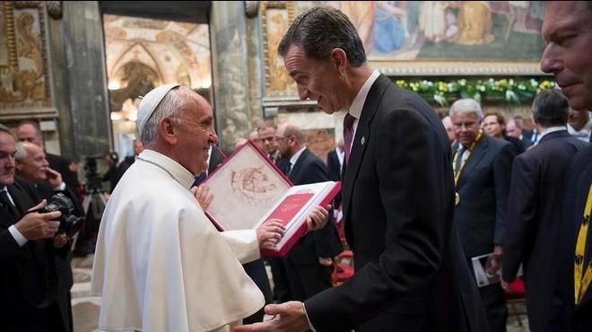 """El papa Francisco: """"�Qu� te ha sucedido, Europa?"""""""