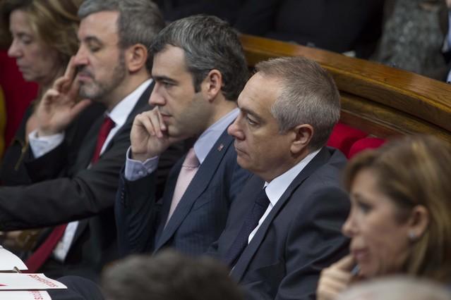 El PSC votará en contra de la declaración soberanista de CiU, ERC e ICV