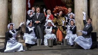 Presentaci�n del nuevo espect�culo de La Cubana, el musical 'Gente bien'.