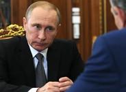 Putin durante una reunión en el Kremlin, en agosto del 2016.