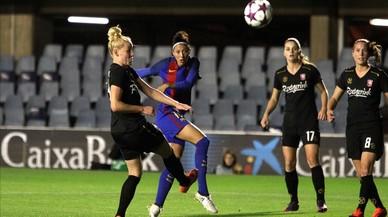 Un golàs de Jenni Hermoso dóna el triomf al Barça a la Champions