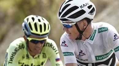 Chaves deixa Contador sense podi a la Vuelta