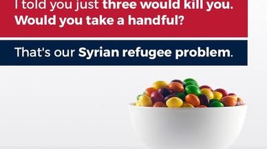 El fill de Trump compara la crisi de refugiats amb caramels enverinats