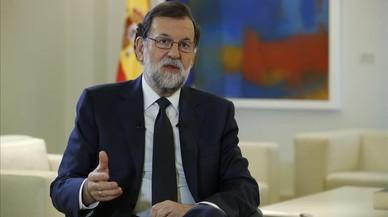Rajoy descarta aplicar l'article 155 si no es produeix una DUI