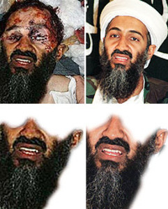 Photoshop del suposat cadàver de Bin Laden
