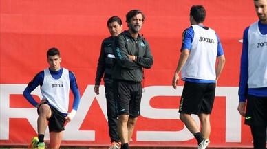 """Quique Sánchez Flores: """"No volem ser un equip qualsevol, busquem la perfecció"""""""