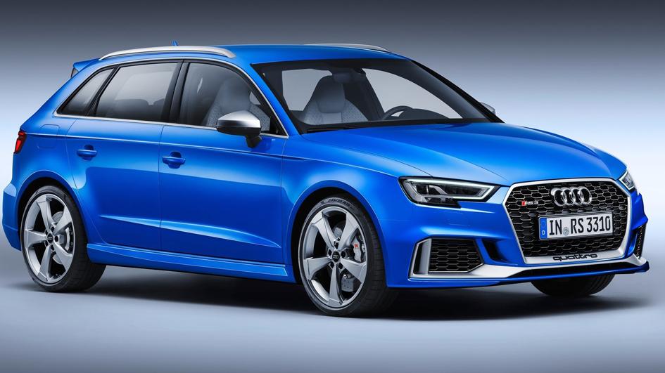 Los nuevos Audi RS 3 montarán un motor de cinco cilindros y 400 CV (ES)