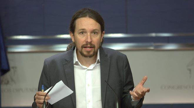 """Iglesias: """"El PSOE ha cambiado, pero esperamos que termine haciendo una oposición parecida a la nuestra"""""""