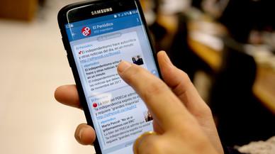 Seguiu l'actualitat de la política catalana a través del canal de Telegram d'EL PERIÓDICO