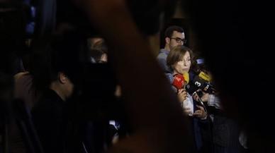 """La fiscalia acusa Carme Forcadell de """"dinamitar"""" l'Estat"""