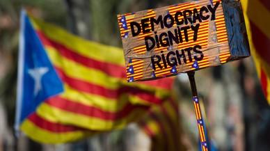 Segueix endavant l'acte a Madrid de suport al referèndum català
