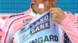 La direcció del Giro fa sonar l'himne franquista amb Contador al podi