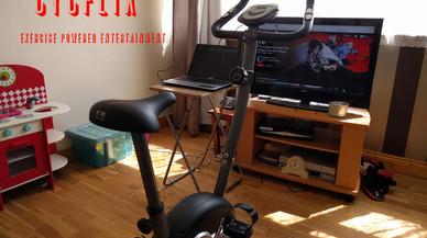 El invento ideal: una bici para adelgazar viendo series