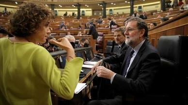 """Rajoy asegura que la """"prueba"""" de que la Constitución está viva es el 155"""
