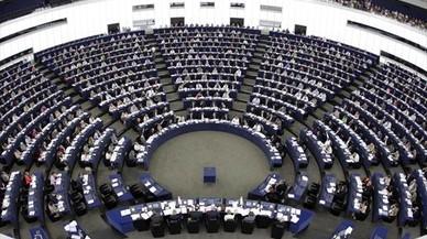 Una sesión del Parlamento Europeo en Estrasburgo.