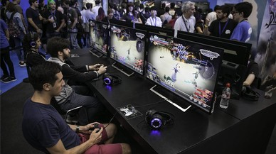 La indústria del videojoc i els fans es compenetren a Barcelona