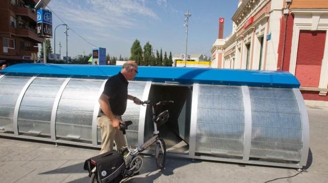 La demanda anual de 'Bicibox', el servei d'aparcament de bicicletes de l'AMB, augmenta un 44% respecte 2015