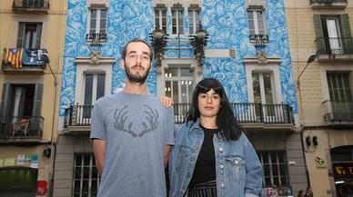 """De Riba y López: """"El mural es un éxito porque respeta la fachada histórica"""""""