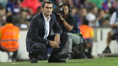 """Valverde: """"Volia que Messi jugués de fals nou"""""""