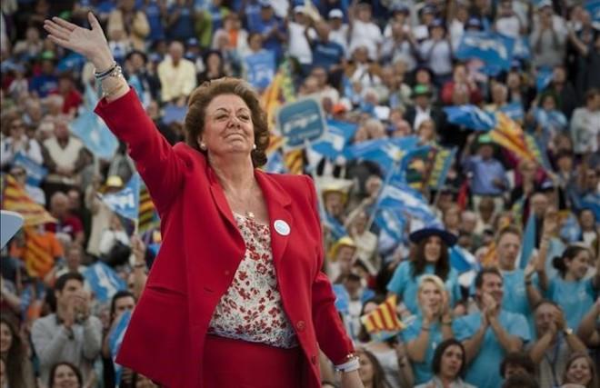 El juez investiga otra campaña electoral de Rita Barberá