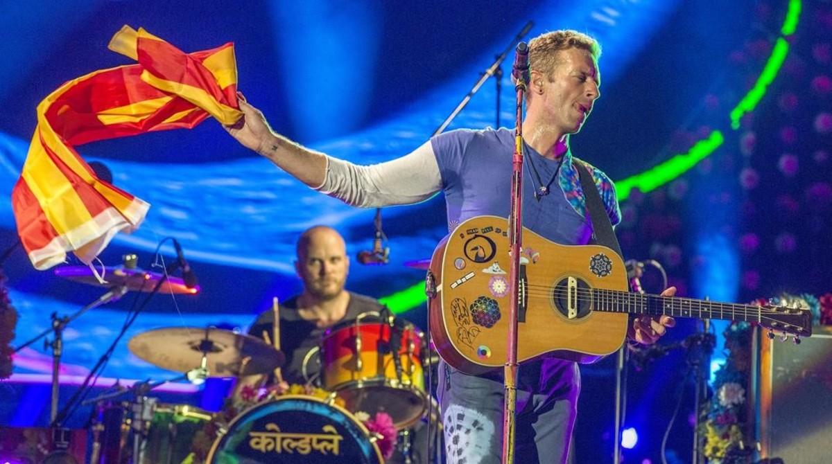Coldplay Brilla A Montju C