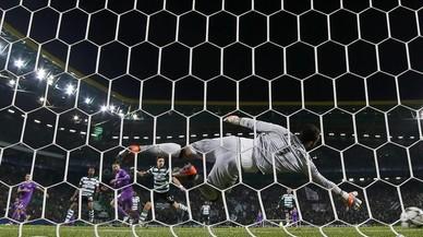 Benzema rescata el Madrid a Lisboa (1-2)