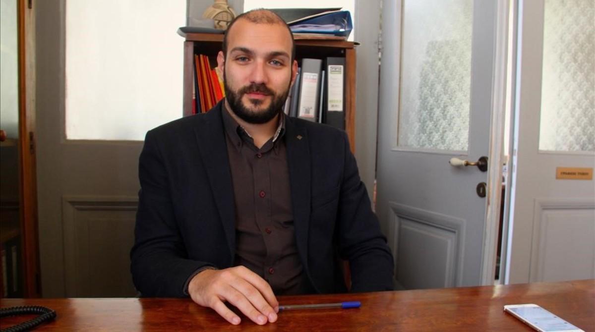 """Marios Andriotis: """"En Lesbos hemos entendido que los refugiados son víctimas de guerra"""""""