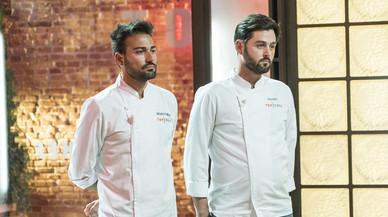 Montoro y Manu, esperando la decisión del jurado en 'Top chef'