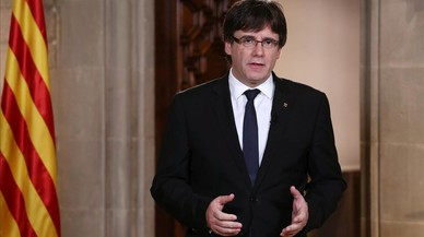 Puigdemont logra 1,4 millones de telespectadores en Catalunya