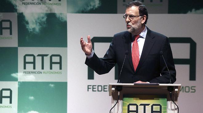 Rajoy anuncia mesures per als autònoms en un acte a Còrdova