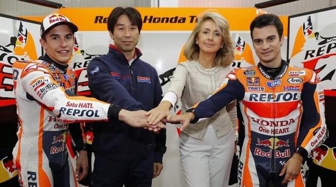 La renovación del acuerdo Repsol-Honda.