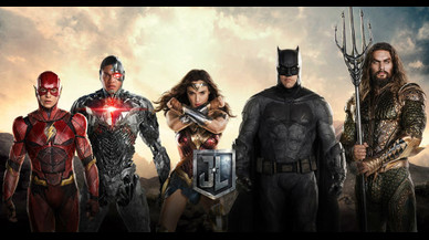 Una imagen promocional de 'Liga de la Justicia'.