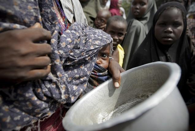 La sequ�a amenaza con la muerte a 58.300 ni�os en Somalia