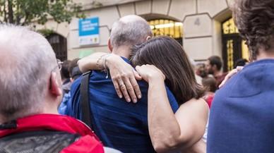 Barcelona dona suport institucional a les víctimes de l'1 d'octubre