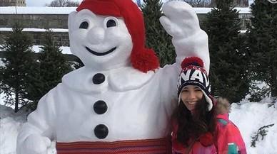 """Julieta, estudiant d'ESO al Quebec: """"A classe d'educació física patinem sobre gel"""""""
