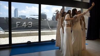Posi un dron en el seu casament