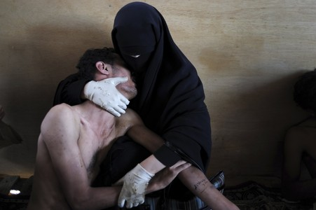 La foto ganadora del World Press Photo 2011, del fot�grafo catal�n Samuel Aranda.