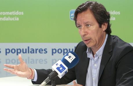 El vicesecretario de Organización y Electoral del PP, Carlos Floriano.