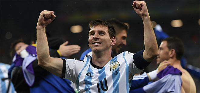 Maracaná espera a Messi