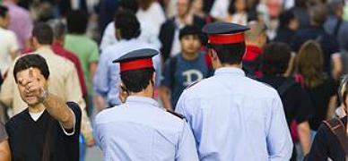 El Govern discrimina a los mossos que sufren una discapacidad grave